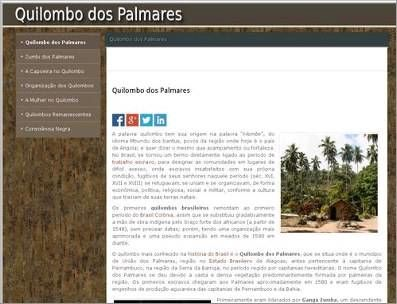 Quilombo dos Palmares
