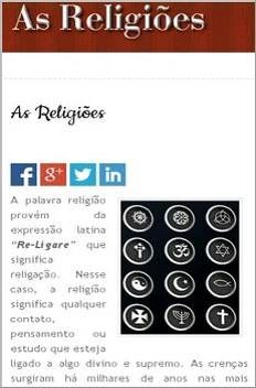 As Religioes