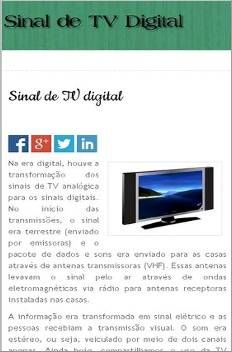 Sinal TV Digital
